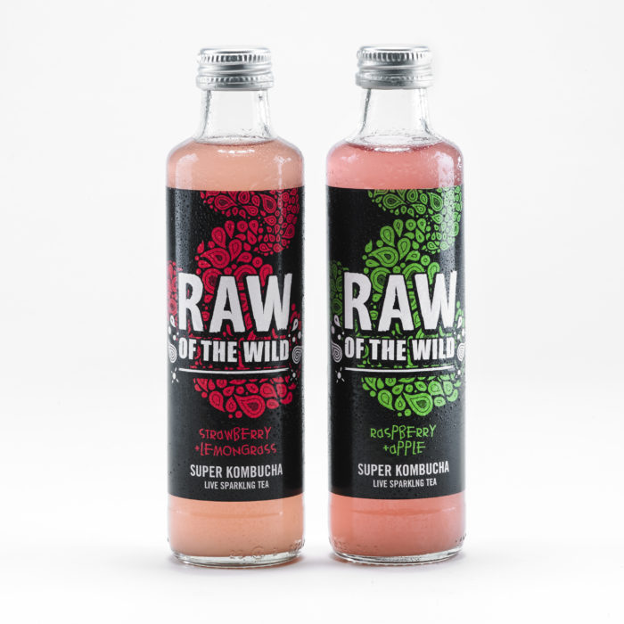 Mixed flavour bottles
